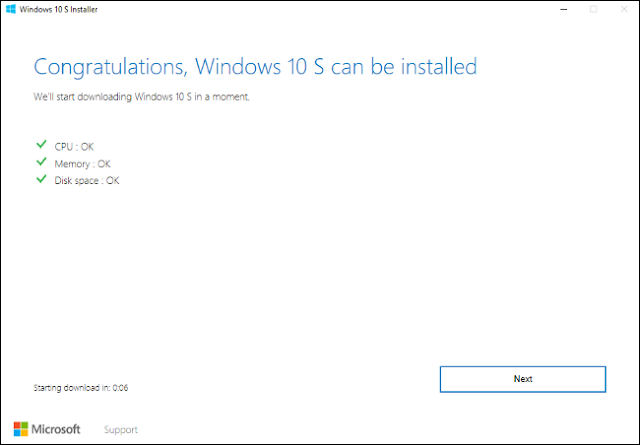 How to Install and Test Windows 10 S