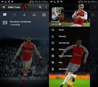 BBM Mod Mesut Ozil