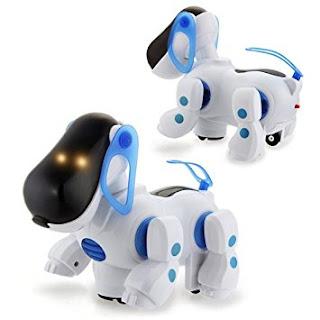 DcolorPerro Mascota Robotico Interactivo, juguetes para niños