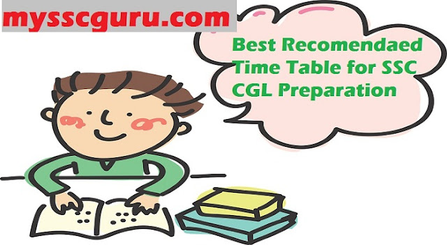 Best-time-table-for-cgl-exam-preparation