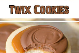 Twix Cookies With A Creamy Carame