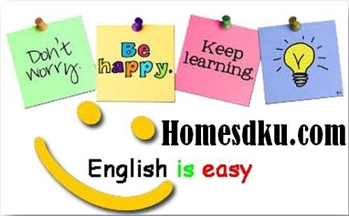 Soal UTS Bahasa Inggris Kelas 1 - 6 SD/MI Terbaru