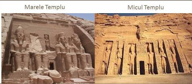 Templele lui Ramses al-II-lea, si ale lui Nefertari, sotia sa
