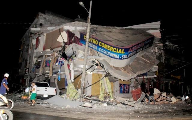 nuevo sismo ecuador