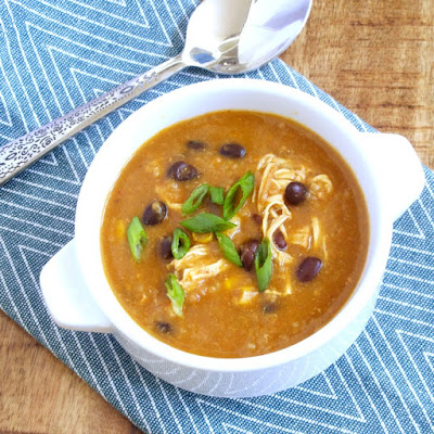 Chicken and Rice Enchilada Soup
