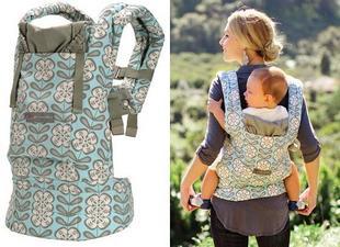 53f3116c6ce Designer Collection Ergo Baby Carrier - Petunia Pickle Bottom (Peaceful  Portofino)