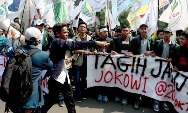 Rakyat dan TNI-POLRI Menagih Janji Jokowi Soal PNS Dan Kenaikan Tunjangan Kinerja