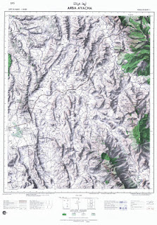 ARBA AYACHA Morocco 50000 (50k) Topographic map free download