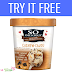 Get a Voucher for a FREE So Delicious Non-dairy Cashew Frozen Dessert