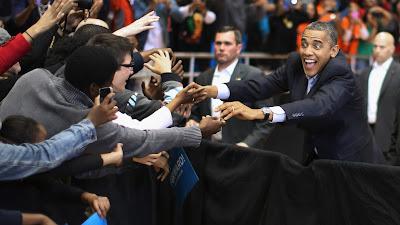 Hình ảnh chế hài hước của Obama - Cảm xúc vui, obama tranh cu tong thong
