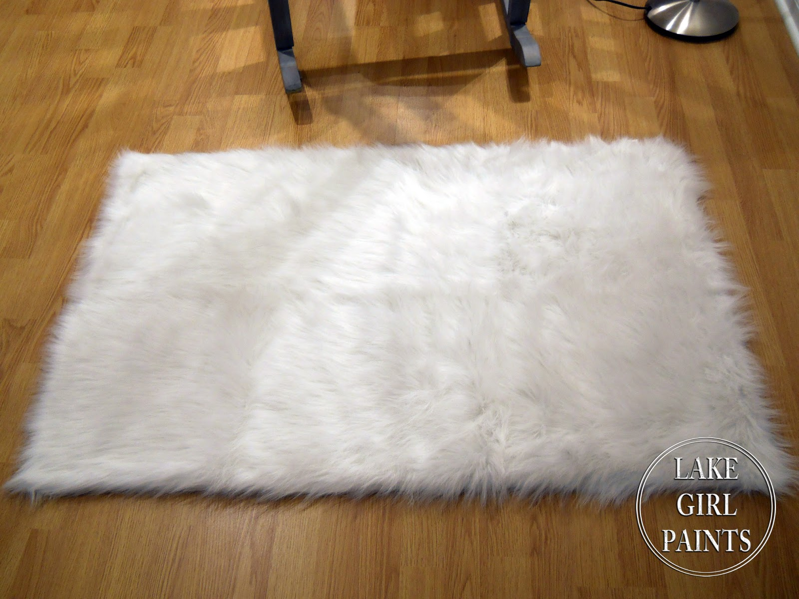 White Furry Carpets