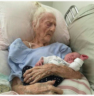OMG!!! A 101 year old woman gave birth to 9 pound baby