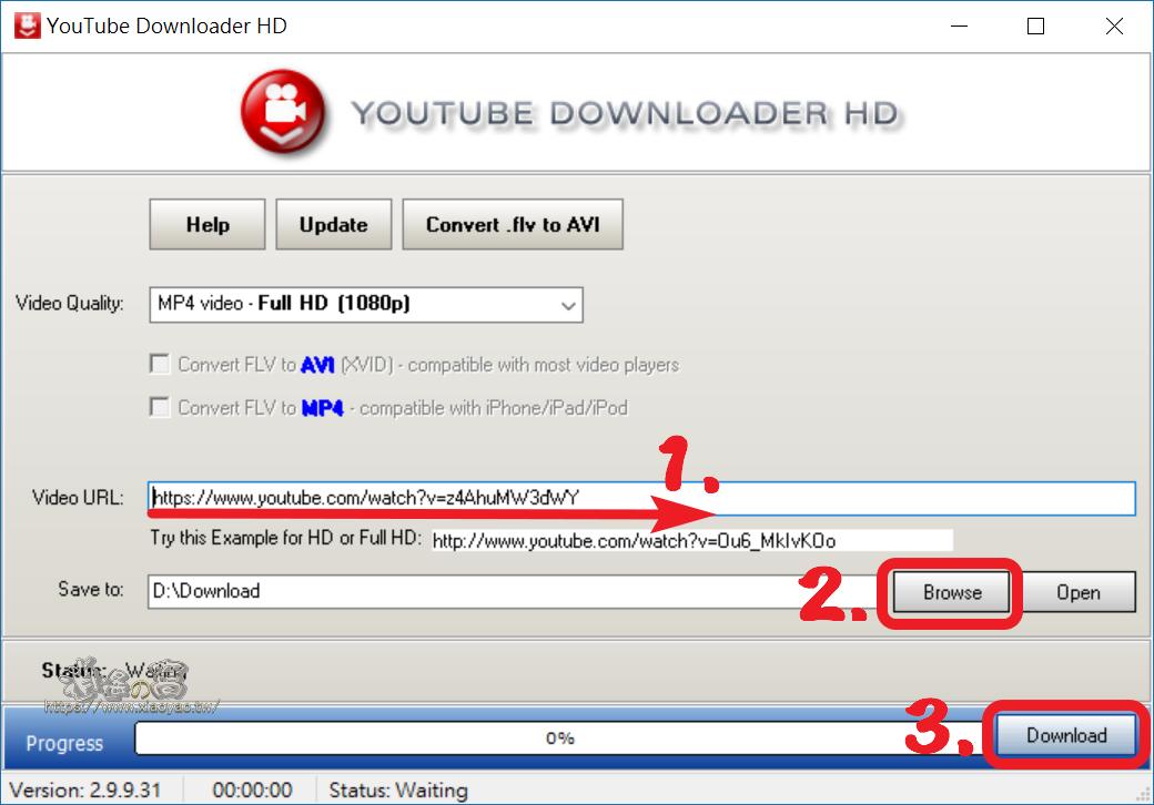 YouTube Downloader HD 免費 YT 影片下載軟體