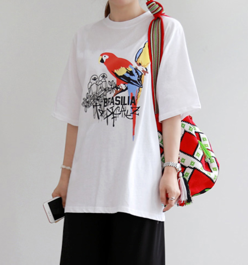 Laid-Back Printed Shirt