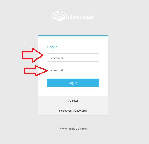 Fullpackage - Fullpackage support team tutorial