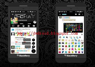 Download BBM MOD D-CHAT FBUI Apk V3.0.1.25 Newest Update