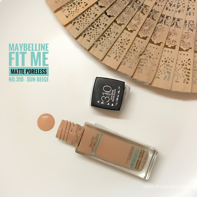 Maybelline Fit Me Foundation - Sun Beige