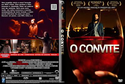 Filme O Convite (The Invitation) DVD Capa