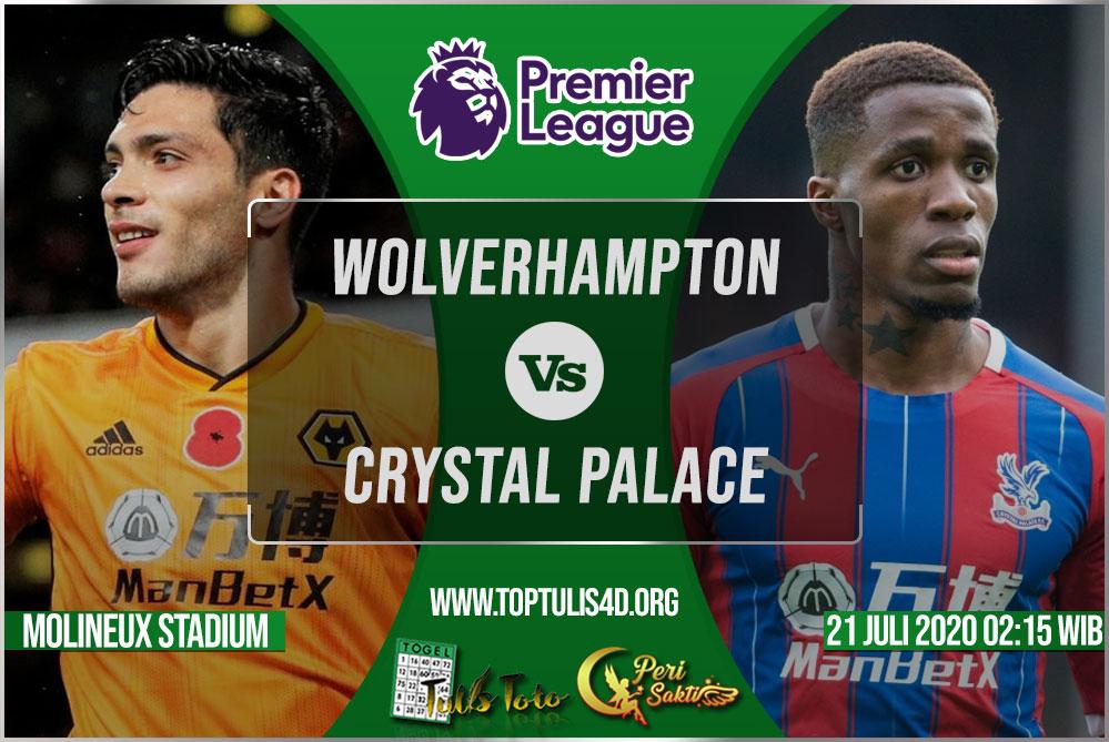 Prediksi Wolverhampton vs Crystal Palace 21 Juli 2020