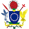 Logo Gambar Lambang Simbol Negara Kepulauan Cook PNG JPG ukuran 100 px