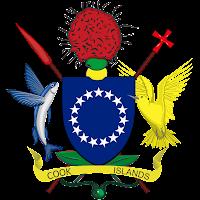 Logo Gambar Lambang Simbol Negara Kepulauan Cook PNG JPG ukuran 200 px