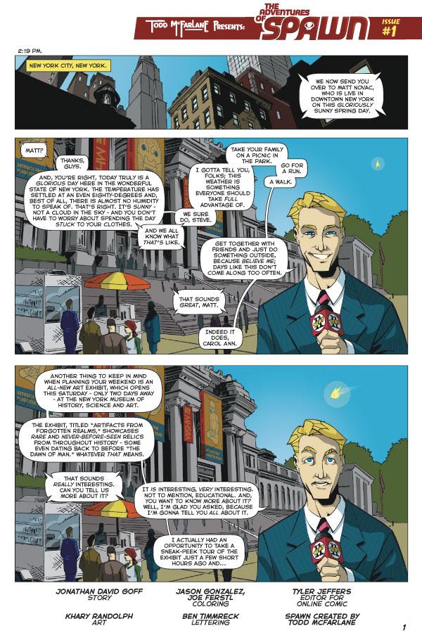 spawn comic online español