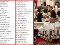 Netizen: Tandai! Ini Daftar Buzzer yang Diundang Jokowi Buka Puasa Di Istana yang Sebagian Besar Tak Puasa