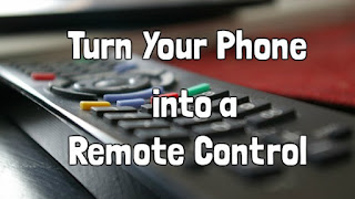 How to use Android phone as ir remote control ?