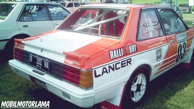 Modifikasi Lancer SL belakang