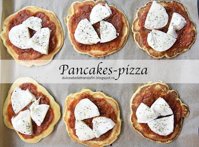 Articole culinare : Pancakes-pizza