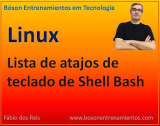 Lista concisa de atajos de teclado de shell Bash