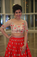 Mahima in beautiful Red Ghagra beigh transparent choli ~  Exclusive 010.JPG
