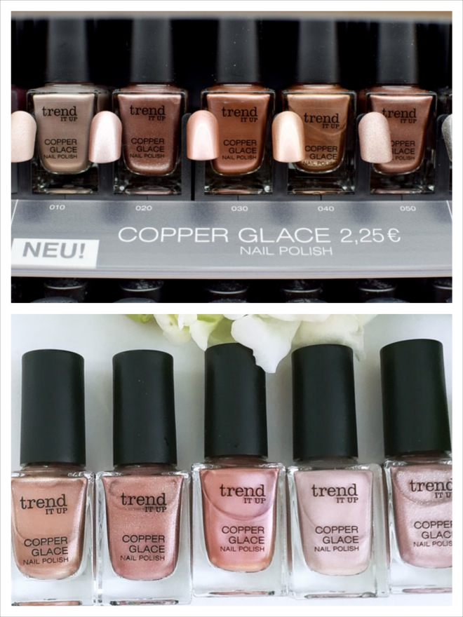 trend IT UP Copper Glace Nagellack, Neue Nagellacke