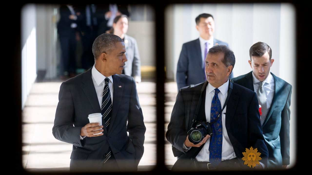 White House photographer Pete Souza: The Last Picture as President of Mr Obama