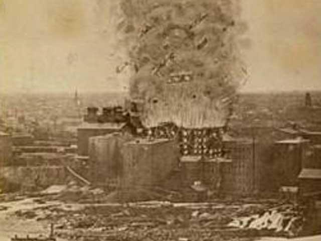 Bom Tepung - Amerika
