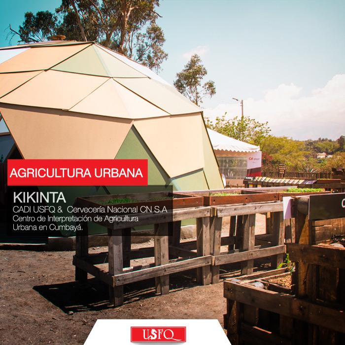 Propuesta arquitectónica que rescata espacios naturales basados en economía sostenible, tecnología USFQ