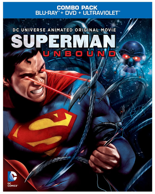 Superman Unbound DVD Cover