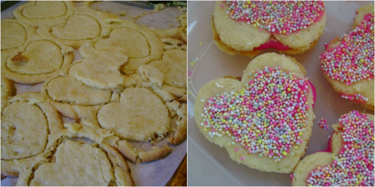 Gluten free cookie fail - saved by the sprinkles