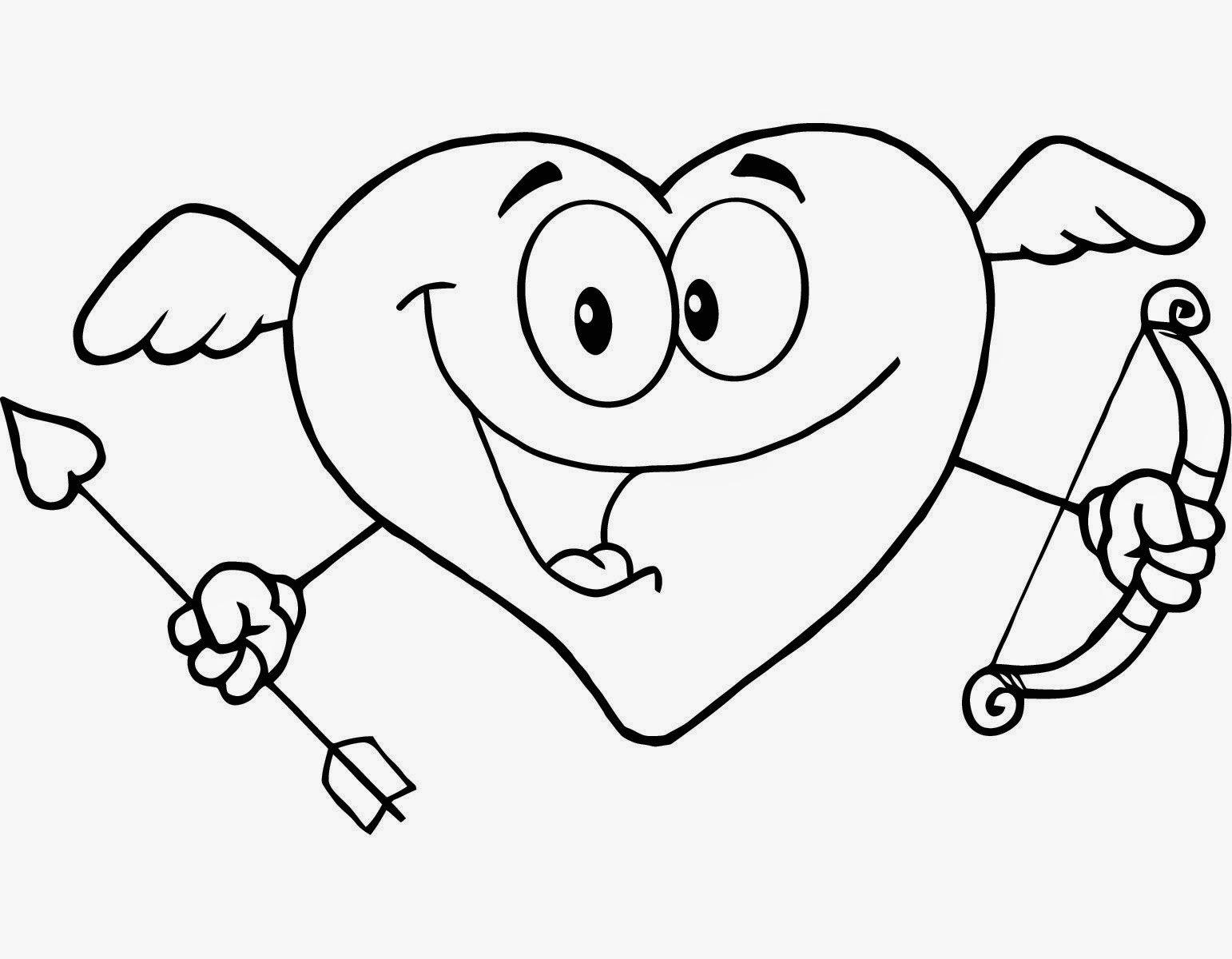 Dibujos de San Valentin para Colorear, parte 1 - IMÁGENES PARA ...