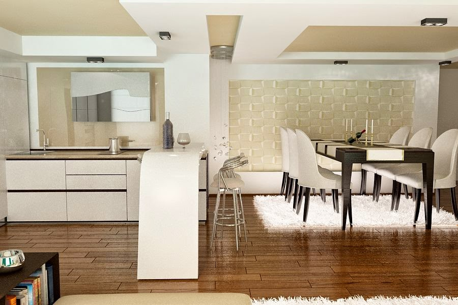 Design interior living casa moderna Constanta - Design Interior - Amenajari interioare | Design - interior - living - casa - Constanta