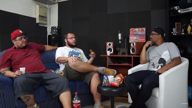 Comes e Raps são os entrevistados do Programa Freestyle