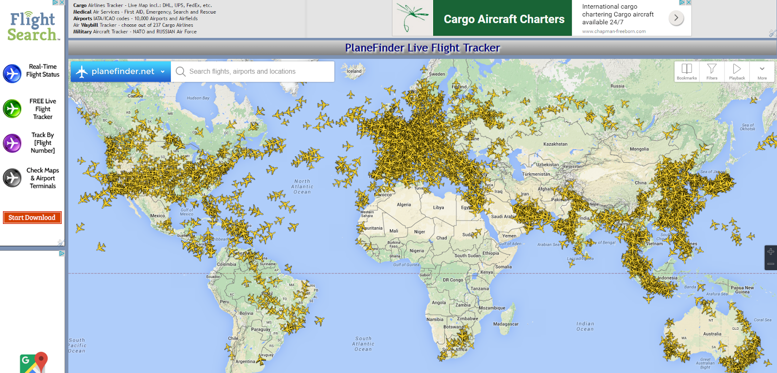 Embed Plane Flight Tracker | Plane Flight Tracker