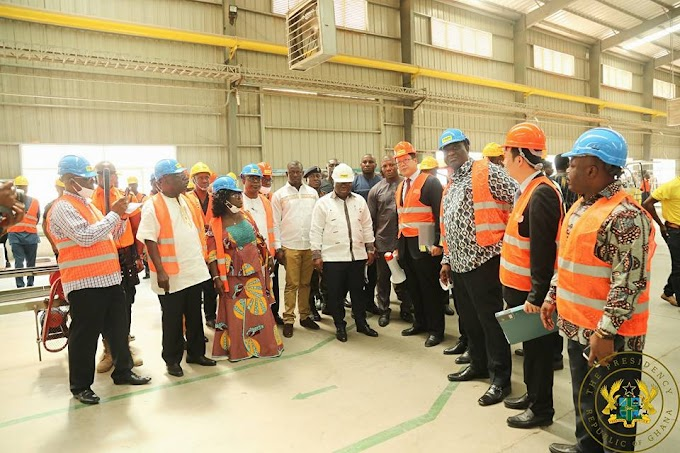 "Industry Grew By -0.5% In 2016; 17.7% In 2017"" – President Akufo-Addo"