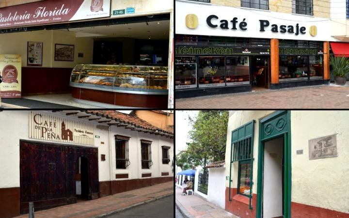Tradicionales cafes en Bogotá