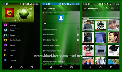 BBM MOD Green Painting Themes New V.2.12.0.11 APK