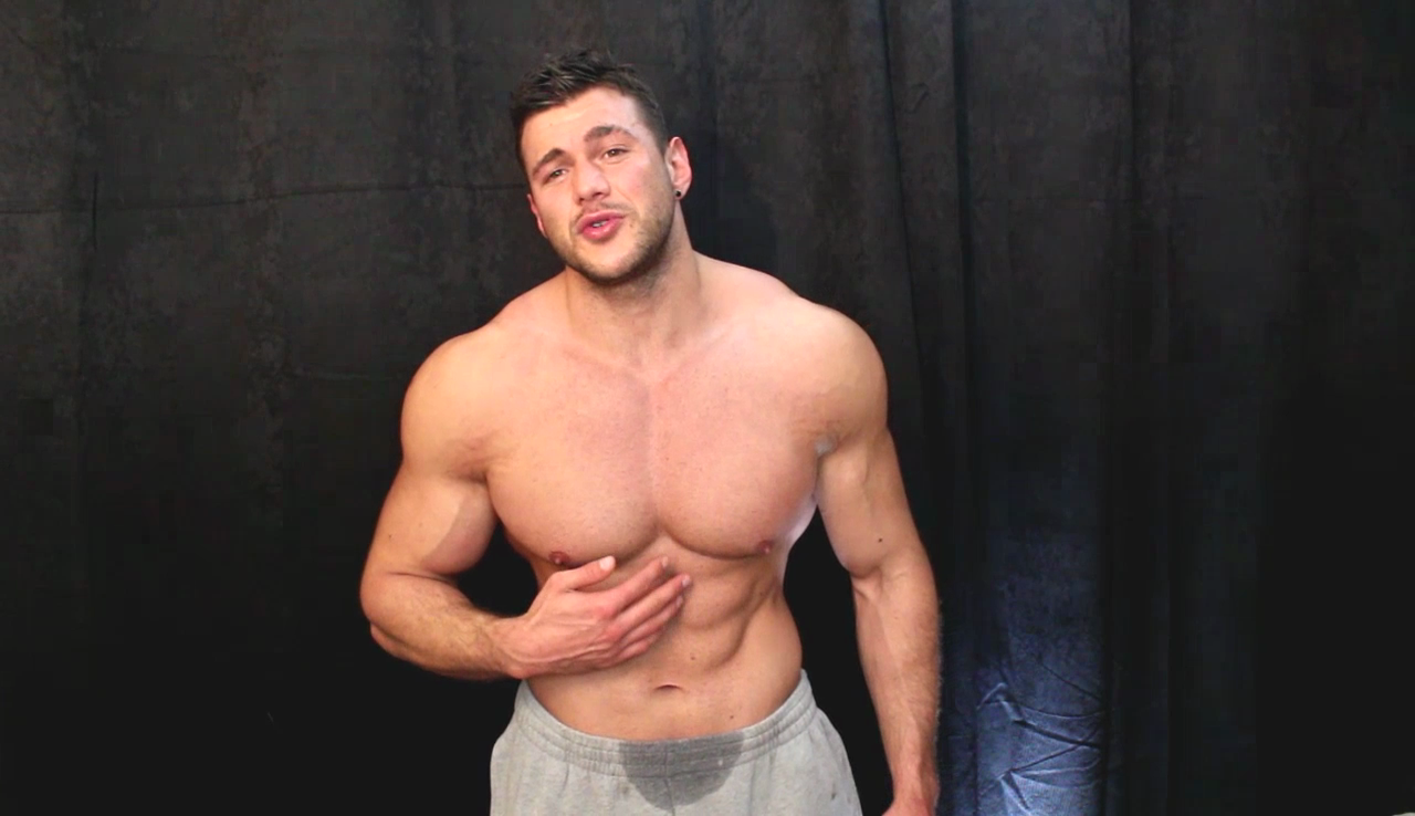 ALL MUSCLE AND PLAY: JOSHUA ARMSTRONG