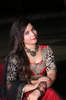 Sirisha Dasari in Red Ghagra Backless Choli ~  046.JPG
