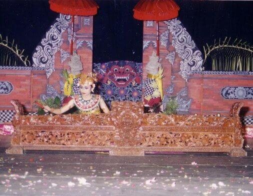 Kebyar Trompong Dance, Tari Kebyar Terompong Bali