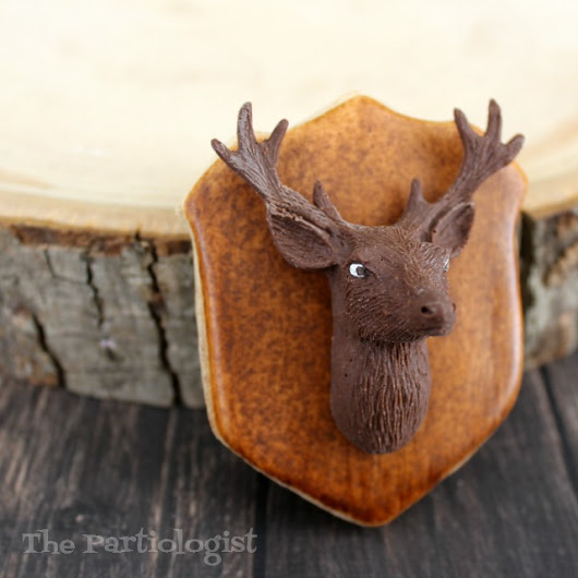 Deer Mounted Cookie!