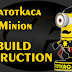 Gatotkaca Minion Paper Model Build Instruction